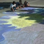 Chalk Walk of Art